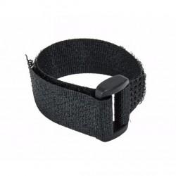 Sťahovacia páska na suchý zips 150x15mm 2ks - čierna