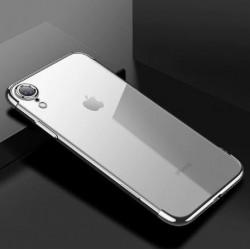 Apple iPhone XR - zadní průhledný silikonový kryt