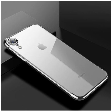 Apple iPhone XR - back transparent silicone cover