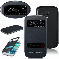 Samsung Galaxy S3 Mini i8190 - tmavě modrý flip S-View