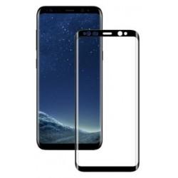 Ochranné tvrdené krycie sklo pre Samsung Galaxy S8 Plus G955 - čierne