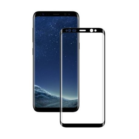 Protective tempered glass for Samsung Galaxy S8 Plus G955 - Black
