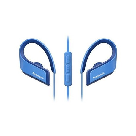 Panasonic RP-BTS35E - blue wireless headphones
