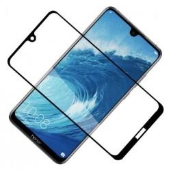 Ochranné tvrdené krycie sklo pre Huawei Y7 2019 / Y7 Pro 2019 - čierne