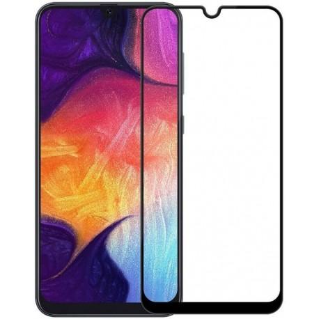 Ochranné tvrdené krycie sklo pre Samsung Galaxy A20 / A30 / A50 - čierne