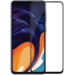 Ochranné tvrdené krycie sklo pre Samsung Galaxy A60 - čierne