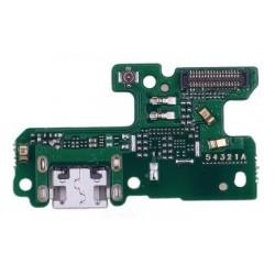 Huawei P8 Lite 2017 - flex kabel USB nabíjecí port (konektor) + mikrofon