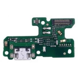 Huawei P9 Lite 2017 - flex kabel USB nabíjecí port (konektor) + mikrofon