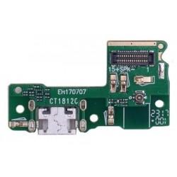 Huawei P9 Lite mini - flex kabel USB nabíjecí port (konektor) + mikrofon