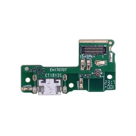 Huawei P9 Lite mini - flex kábel USB nabíjací port (konektor) + mikrofón