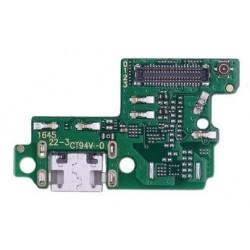 Huawei P10 Lite - flex kábel USB nabíjací port (konektor) + mikrofón