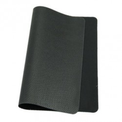 Silicone mouse pad 24 x 20 cm - black