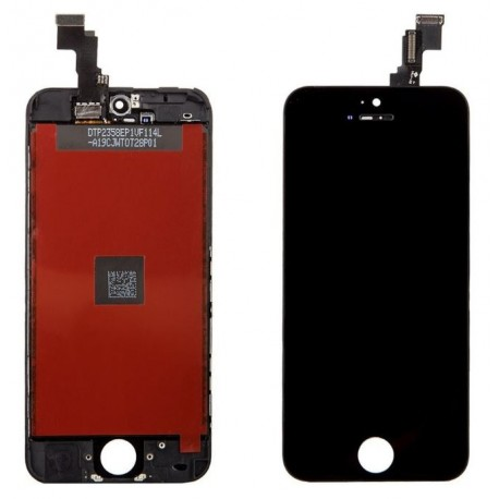 Apple iPhone 5C Black LCD + touch screen, touch glass, touch screen