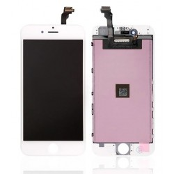 Apple iPhone 6 - biały wyświetlacz LCD + warstwa dotykowa, szkło dotykowe, tablica dotykowa + flex