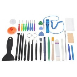 Set of tools for repairing mobile phones and tablets - 34 in 1
