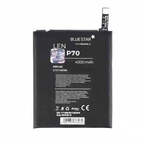 BlueStar Lenovo P70 / P70t / A5000 / Vibe P1m / P90 - 4000 mAh - Li-Ion batéria