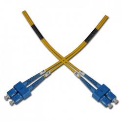 Opticord SC-SC 09/125, 0,5m - optický kabel