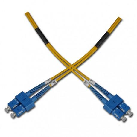Opticord SC-SC 09/125, 0,5m - optický kábel