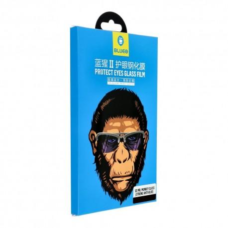 "Blue Mr. Monkey Glass - ochranné sklo pre Apple iPhoneXS Max/11 Pro Max 6,5"" - čierne"