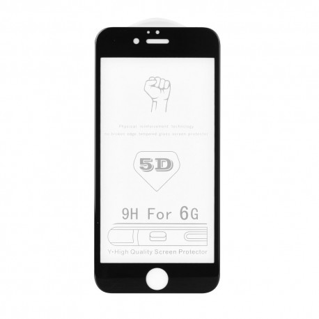 "Roar Glass - 5D ochranné sklo pre Apple iPhone 7/8 4,7 ""- čierne"