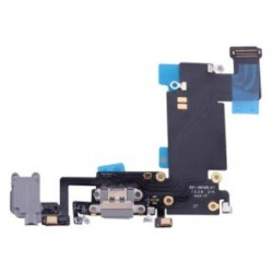 Apple iPhone 6S Plus - Charging connector + flex cable - black