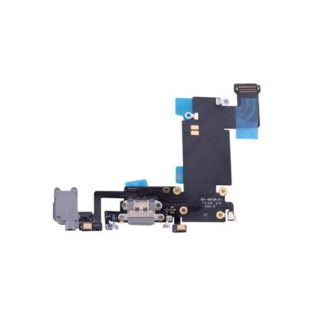Apple iPhone 6S Plus - Charging connector + flex cable - black