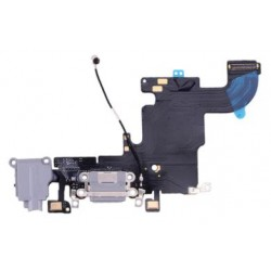 Apple iPhone 6S - Nabíjací konektor + flex kábel - čierna