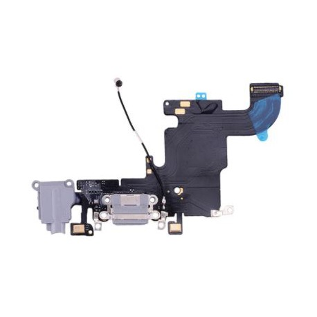 Apple iPhone 6S - Charging connector + flex cable - black