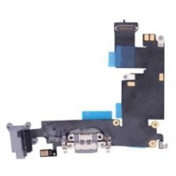 Apple iPhone 6 Plus - złącze ładowania + przewód elastyczny - czarny