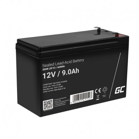 Green Cell AGM 12V 9Ah - batérie do UPS