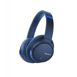 Sony WH-CH700N wireless headphones, blue