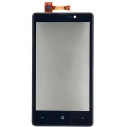 Nokia Lumia 820 - Přední dotykové sklo s rámečkem + flex