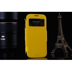Samsung Galaxy S4 i9500 Case Slim Armor - žluté pouzdro