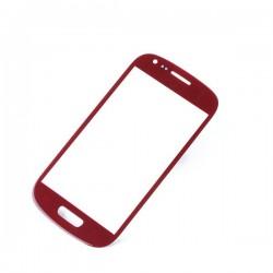 Samsung Galaxy S3 Mini i8190 - Červená dotyková vrstva, dotykové sklo, dotyková doská