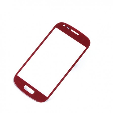 Samsung Galaxy S3 Mini i8190 - Red touch layer touch glass touch panel