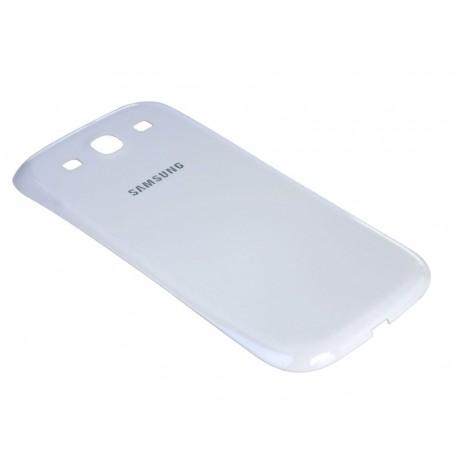 Samsung Galaxy S3 i9300 Neo i9305 9301 - plastový zadní kryt baterie - bílá
