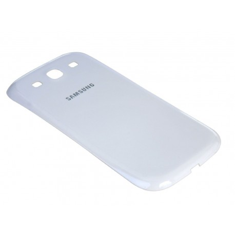 Samsung I9300 Galaxy S3 i9305 Neo 9301 - plastic rear cover - White