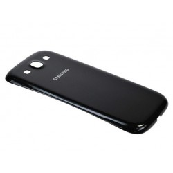 Samsung Galaxy S3 i9300 Neo i9305 9301 - plastový zadní kryt baterie - černá