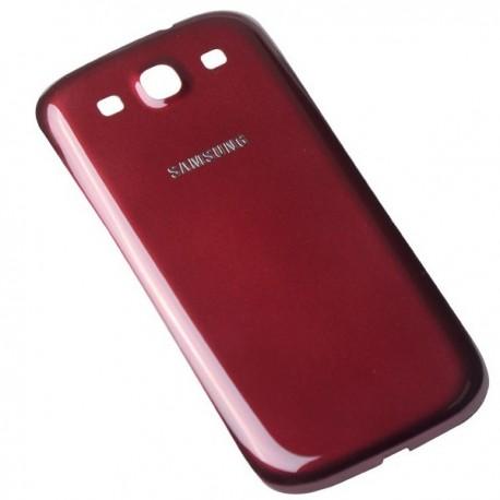 Samsung I9300 Galaxy S3 i9305 Neo 9301 - plastic rear cover - burgundy