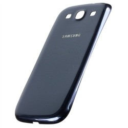 Samsung Galaxy S3 i9300 Neo i9305 9301 - plastový zadní kryt baterie - modrá