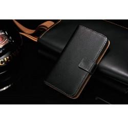 Samsung Galaxy S2 i9100 - Pouzdro Wallet - Černá kůže