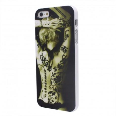 Apple iPhone 5 5S 5G - Zadní kryt telefonu - Sexy tetování