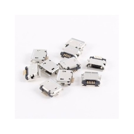 Konektor Micro USB Typ B Female 5Pin SMT Socket