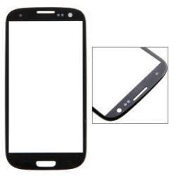 Samsung Galaxy S3 i9300 - Czarny panel dotykowy, szkło dotykowe, panel dotykowy