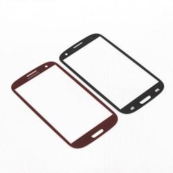 Samsung Galaxy S3 i9300 - Červená dotyková vrstva, dotykové sklo, dotyková doska