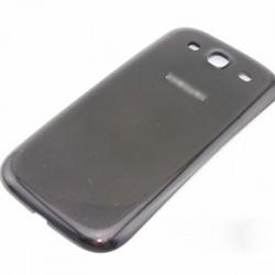 Samsung Galaxy S3 i9300 Neo i9305 9301 - plastový zadní kryt baterie - šedá
