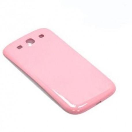 Samsung Galaxy S3 i9300 Neo i9305 9301 - plastový zadní kryt baterie - růžová