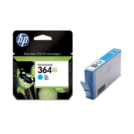 HP 364XL Cyan CB323E - originální cartridge