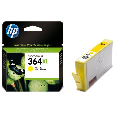 HP 364XL Yellow CB325E - original cartridge