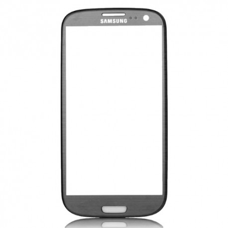 Samsung Galaxy S3 i9300 - Tmavě (oblázkově) modrá dotyková vrstva (sklo, deska)